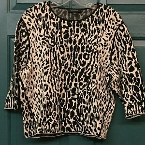 Leopard Anne Taylor Top
